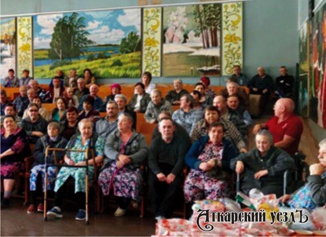 Дом интернат для престарелых аткарск дом престарелых московская область ильинский