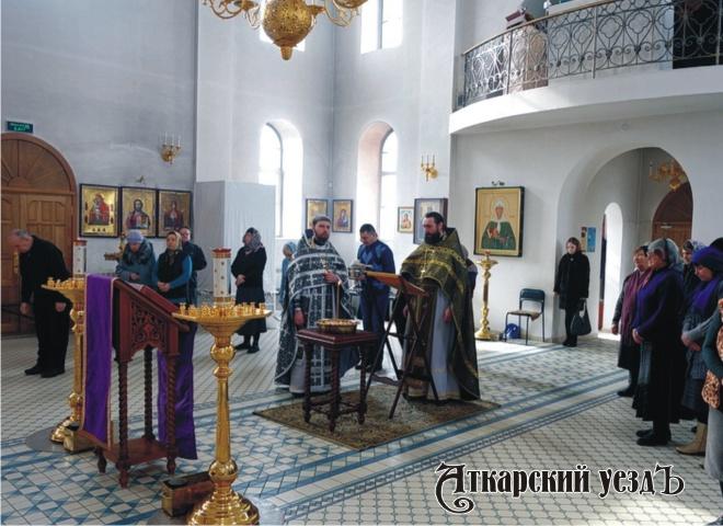 ВХерсоне состоялась Литургия Преждеосвященных подарков