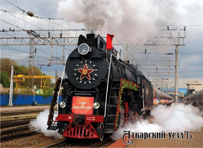 ПоСеверному Кавказу перед 9мая проедет ретро-поезд «Победа»