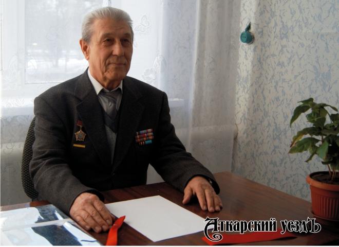 Председатель Аткарского отделения Всероссийского общества инвалидов Геннадий Изибаев
