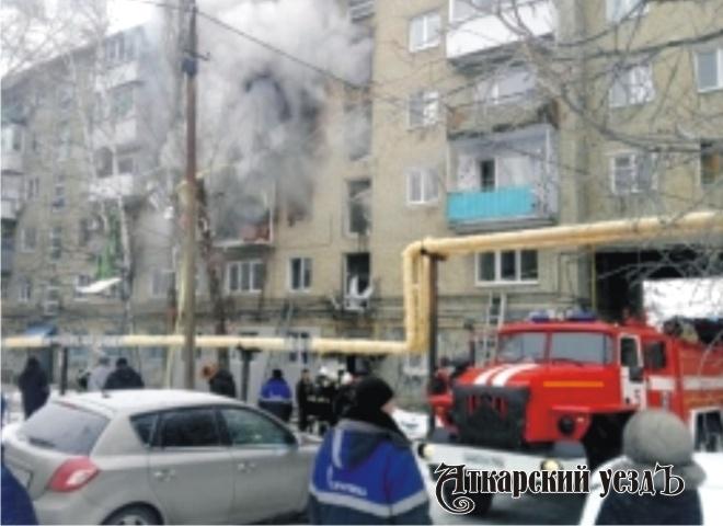 При взрыве газа вжилом доме вСаратове пострадали 10 человек