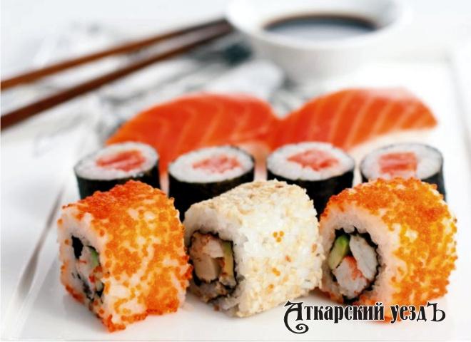 ВЭнгельсе раскрыто нападение накурьера подоставке суши