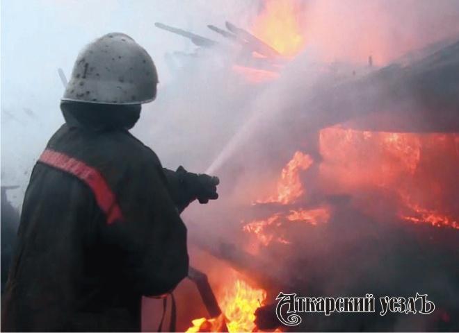При пожаре умер 3-х летний ребенок