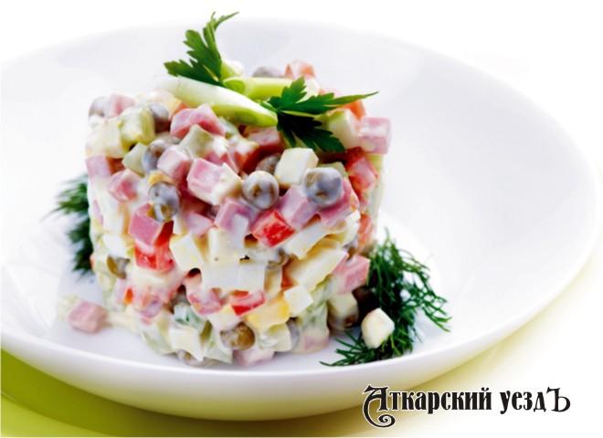 Самый доступный новогодний салат оливье оказался вМордовии, самый дорогой— наЧукотке