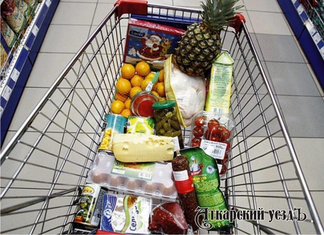 ВСаратовской области подросла стоимость продуктовой корзины