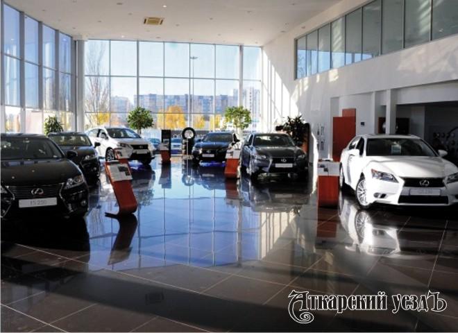 Салон премиальных автомобилей