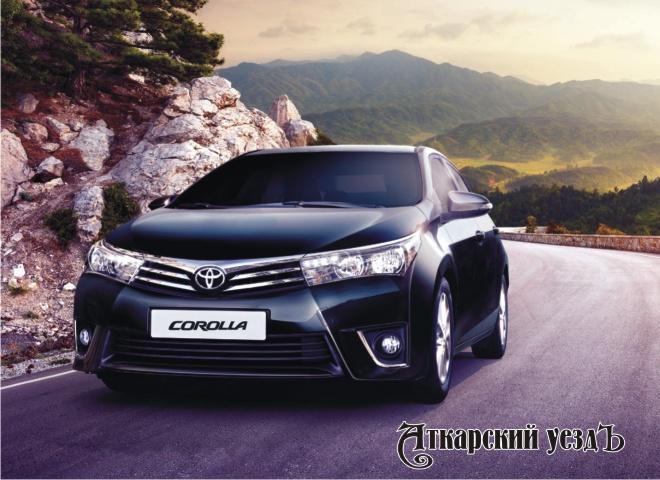 Наиболее популярным автомобилем вмире втечении следующего года стал седан Тойота Corolla