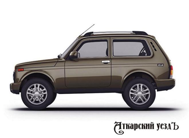Российский внедорожник Lada 4х4