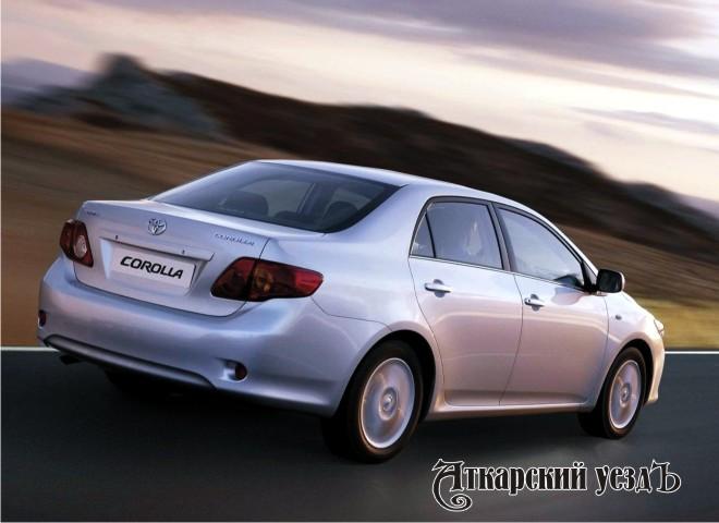 Автомобиль Toyota Corolla с пробегом