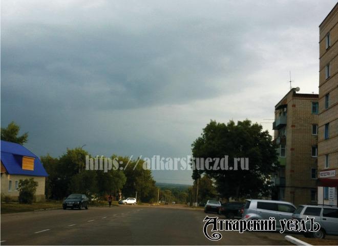 ВСаратовской области вероятны  дожди игрозы