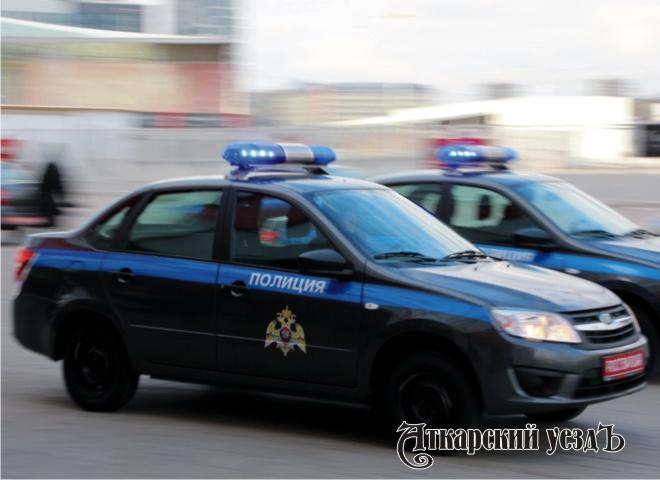 Автомобили Росгвардии серо-синего цвета