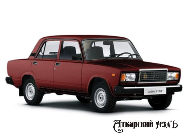 Самой распространенной машиной в России является ВАЗ-2107