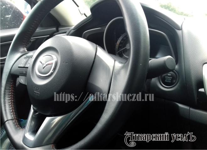 Салон автомобиля Mazda 3