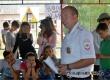 Автоинспекторы и волонтеры провели акции в детских лагерях района