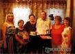 Сотрудники ЗАГС и ЦСЗН поздравили с Золотой свадьбой супругов Жуковых