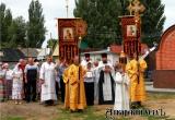 В День Петра и Павла в Аткарске состоялся крестный ход и благотворительная ярмарка. Фоторепортаж