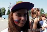 Аткарск в лицах, День флага, триколор и аквагрим. Зарисовка «АУ»