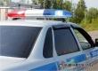 В перевернувшейся у поворота на Тургенево иномарке пострадал полицейский
