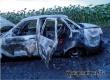 Во время движения в 5 км от Аткарска от неисправной электропроводки сгорела «десятка»