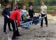 На берегу Аткары прошли школьные соревнования по пешеходному туризму