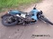 На дороге в Умет разбился подросток-мотоциклист без прав
