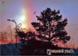 Аткарчане стали свидетелями редкого природного явления – декабрьской радуги