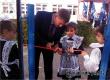 В Аткарске в парке у школы № 6 торжественно открылась детская площадка
