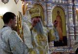 Митрополит Лонгин совершил в Аткарске богослужение и призвал к покаянию. Фоторепортаж