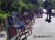 В парке Аткарска проходит выставка под открытым небом