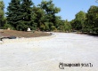 Работы у памятника Борцам революции в парке близки к завершению
