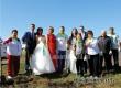 У родника в Ломовке посадили 7 сосен в честь каждого велопробега