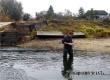 Метеорологи проинспектировали гидрологический пост на реке Аткара