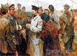 Пребывание Калинина в Аткарске запечатлел известный художник