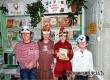 В библиотеке села Петрово с детьми проводили Год Огненного Петуха