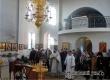В преддверие Крещения Господня в Петропавловском храме прошла литургия