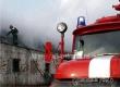 В поселке Тургенево ликвидировали ночной пожар на зерносушилке