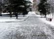 В Аткарске 12 декабря сохранится туман, обложной снег и гололед