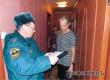 Жителей улицы Локомотивной проинструктировали о пожарной безопасности