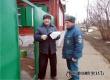 Среди жителей улиц Островского и Серова провели противопожарный инструктаж