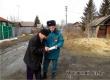 Пожарные прошлись профилактическим рейдом по 2-й Мичуринской