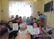 Трехлетняя аткарчанка поучаствовала в конкурсе рисунков к 23 февраля