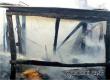 На заброшенных дачах у Барановского переезда произошел пожар