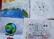 В Кочетовке прошел конкурс рисунков «Мир – планете, счастье – детям»