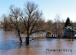 Уровень паводковых вод на реке Медведица упал до 666 см