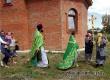 В престольный праздник у храма в Озерном прошел крестный ход