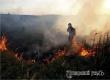 В Большой Осиновке ликвидировали крупное возгорание сухой травы