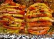 Рецепт дня от «Уезда»: запеченная картошка с салом в фольге