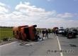 В аварии с грузовиком аткарчанина погибли двое детей и пенсионерка