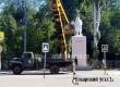 Не в розовый: к Фестивалю роз в Аткарске покрасили памятник Ленину