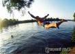 Аткарчанин прыгнул в реку и сломал ногу, помогли спасатели